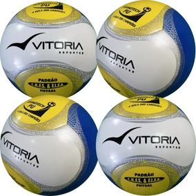 25a2eb8ebb9bc Bola Futsal Vitoria Oficial Termotec 6 Gomos Max 500 Pu - Bolas de Futebol  no Mercado Livre Brasil
