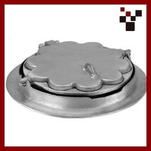 boleira para fogao a lenha grande em aluminio fundido