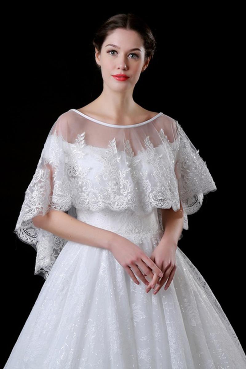 CHICTRY Chaqueta Capas Elegantes de Princesa para Ni/ña Capas Blanca para Vestido Boda Fiesta Bolero Danza Halloween C/árdigan Abrigo Oto/ño Beb/é Ni/ñas