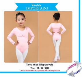 b8c5aaca09 Casaquinho Ballet Infantil - Calçados, Roupas e Bolsas com o Melhores  Preços no Mercado Livre Brasil