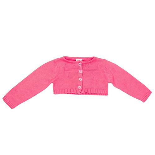 bolero infantil bebê menina tip top tricot 1070049