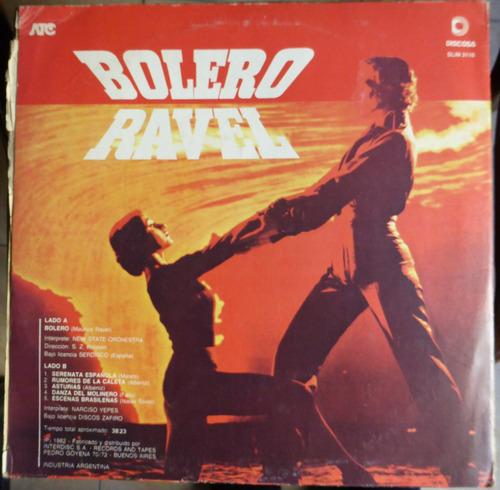 bolero ravel new state orchestra narc yepes  disco vinilo lp