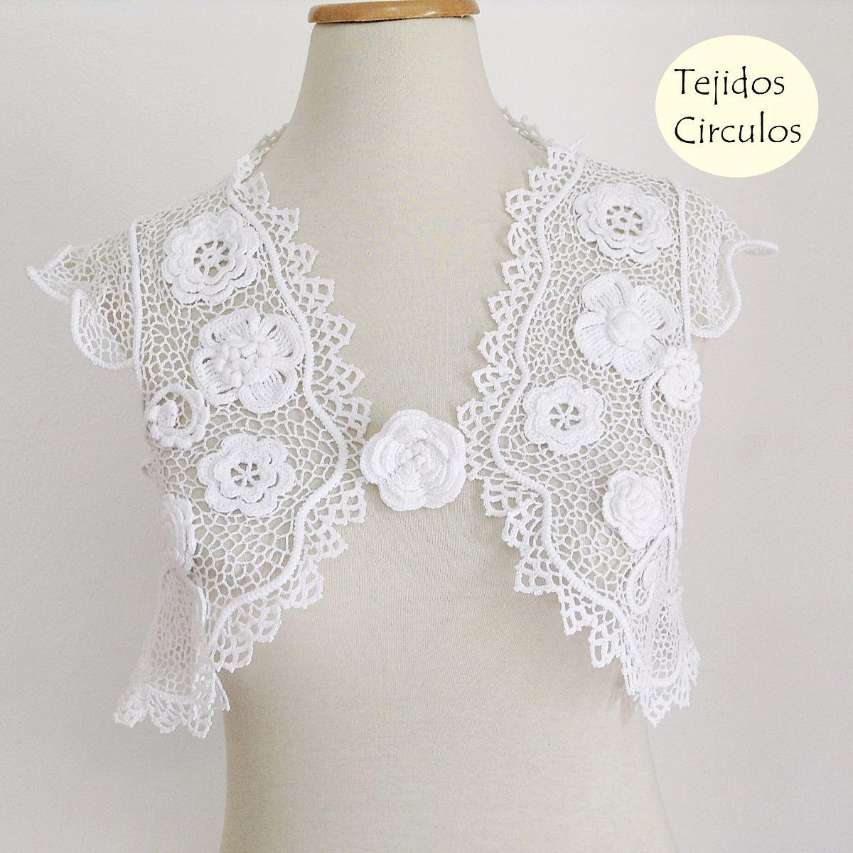 Boleros Crochet Fiesta De Casamiento Exclusivo - $ 4.500,00 en ...