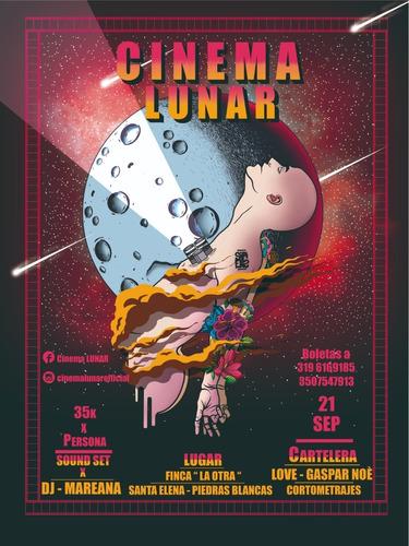 boleta cinema lunar medellín