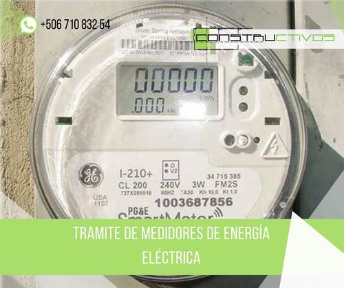 boleta electrica medidor ingeniero eléctrico plano visado