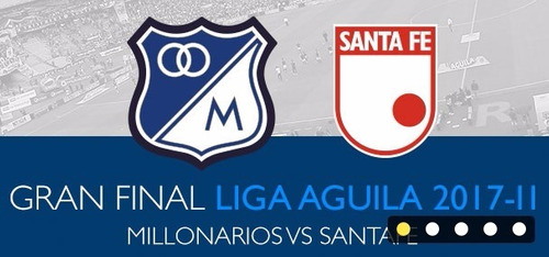 boleta final millonarios vs santafe negociables ultima