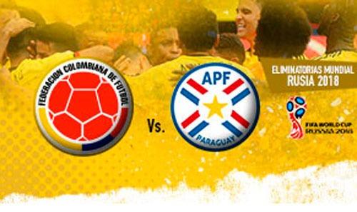 boletas colombia vs paraguay
