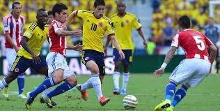 boletas colombia vs paraguay - occidental