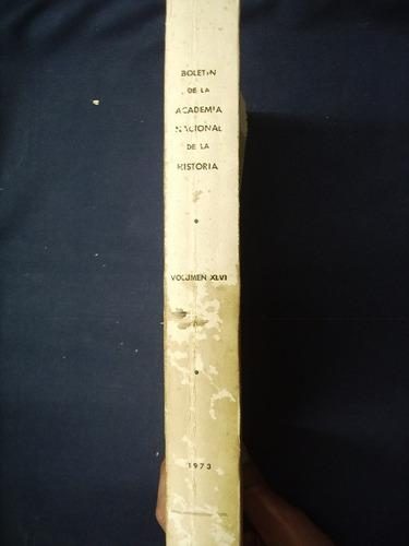 boletín de la academia nacional de la historia - 1973