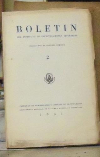 boletin del instituto de investigaciones literarias -  n°2