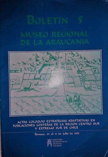 boletin  n 5 museo regional de la araucania