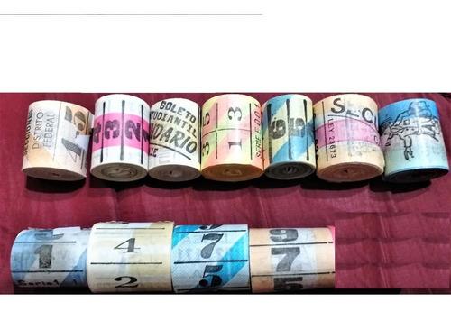 boletos d colectivo-colillas--envio gratis a domic de capit