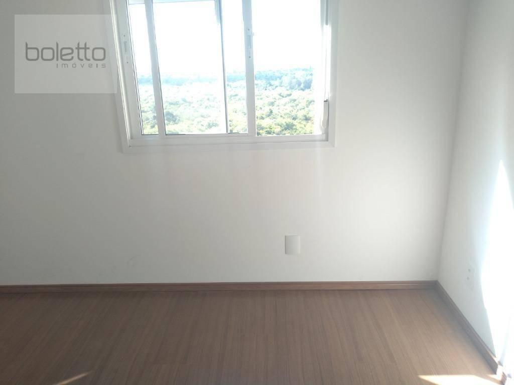 boletto imóveis vende apartamento com 2 dormitórios, 1 suite, 2 banheiros 60 m² - 1 vaga de garagem coberta, portaria 24hs,life park- canoas/rs - ap1341