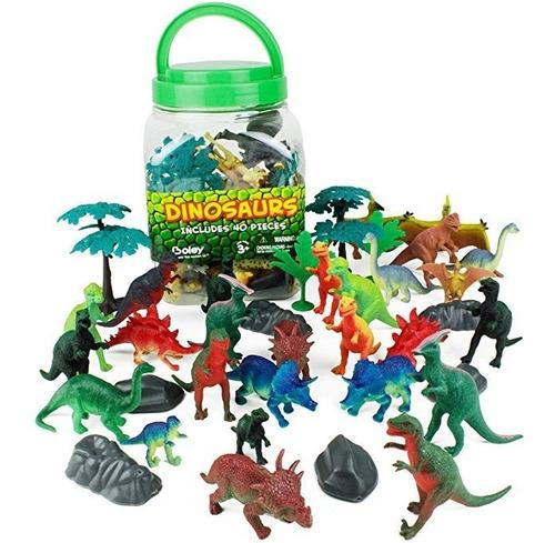 boley 40 pzas big cubo juguetes tubos dinosaurio educativo j