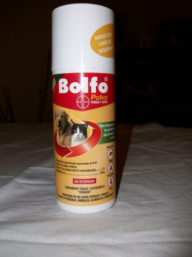 bolfo polvo para perros y gatos
