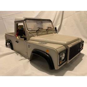 Bolha Automodelo Land Rover Defender Single Cab Escala 1/10