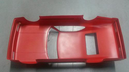 bolha para automodelo opala ss vermelha eixo 200mm 1/10