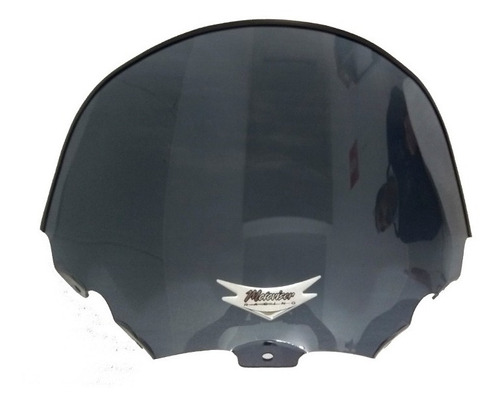 bolha parabrisa citycom 300i policarbonato motovisor modelo mini menor fumê