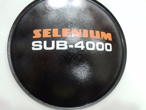 bolha protetor p/ alto falante selenium sub-4000 160mm