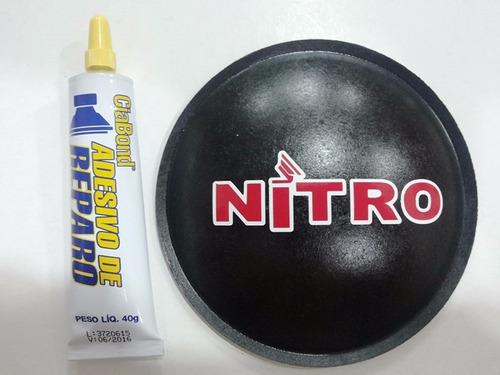 bolha protetor para falante nitro 135mm + cola