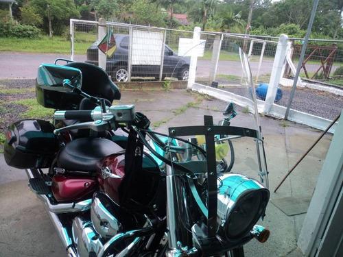 bolha universal p/ moto custom
