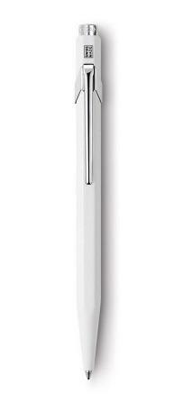 bolígrafo carandache 849 popline 849.502 blanco con estuche