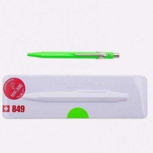 bolígrafo carandache 849 popline 849.730 verde con estuche