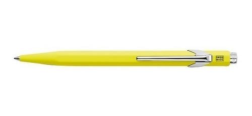 bolígrafo carandache 849 popline 849.970 amarillo c/ estuche