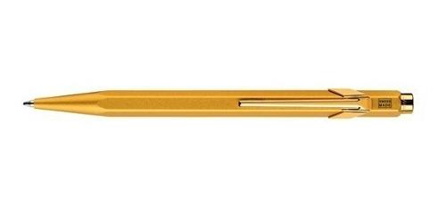bolígrafo carandache 849 popline 849.999 goldbar con estuche