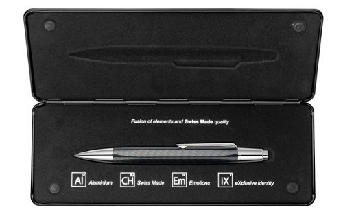 bolígrafo carandache alchemix carbon 4880.496 | envío gratis