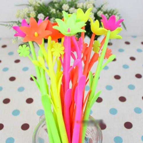 boligrafo con forma d/flor rosa daisy regalo cotillon fiesta