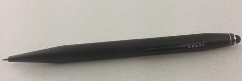 bolígrafo cross negro satín tech 2 (nuevo en caja)