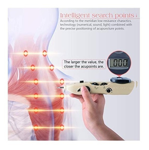 bolígrafo de acupuntura recargable inalámbrico eléctrico
