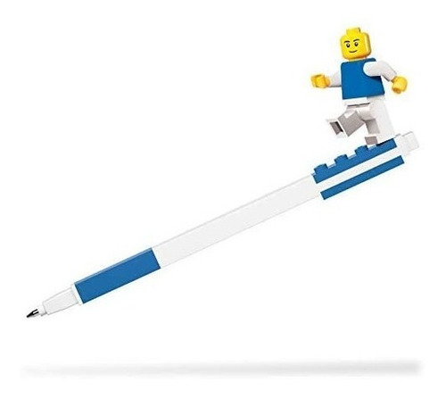 bolígrafo de gel con minifigura lego