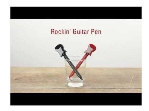 bolígrafo de guitarra
