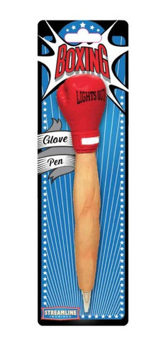 bolígrafo guante de box
