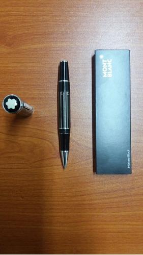 bolígrafo mont blanc, edición limitada, 15 años de antigüeda