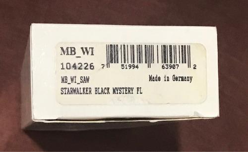 bolígrafo montblanc original.  starwalker mystery black