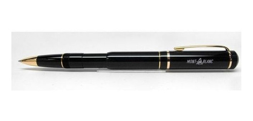 bolígrafo negro tipo  monblack imitación