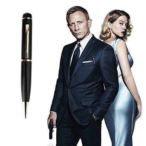 bolígrafo o pluma con camara espia full hd