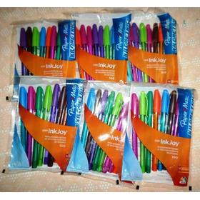 Boligrafo Paper Mate - Kilometrico 100 Colorz Con Inkjoy