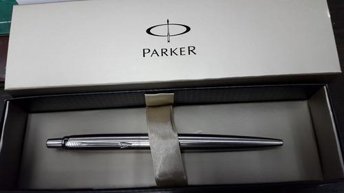 boligrafo parker original jotter aceroinox. varios modelos