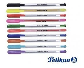 Pelikan R40 color azul y plata Bol/ígrafo