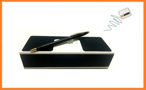 bolígrafo personalizado cross century black g.d ref:2502