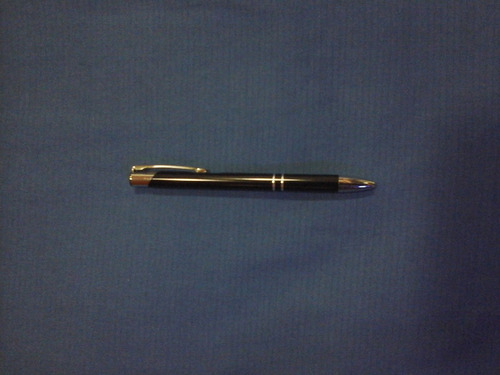 bolígrafo tipo parker imitacion tinta negra con estuche