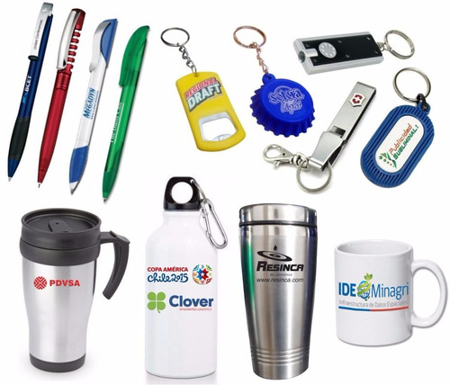 boligrafos, llaveros, vasos termicos, material pop