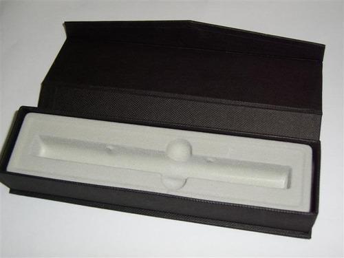 bolígrafos metálicos, personalizados gratis con laser, mod. imperial negra