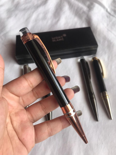 bolígrafos mont blanc