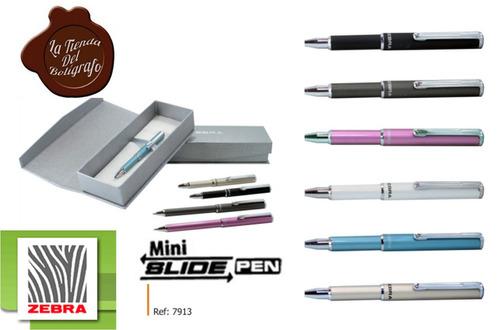 boligrafos slide pen mini zebra ref: 7913