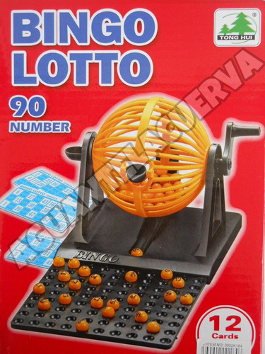 bolillas de bingo reposición completa